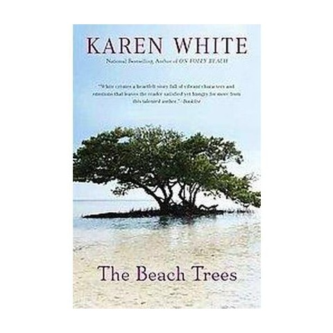 The Beach Trees (Large Print) (Hardcover)
