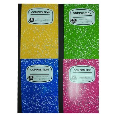 Notebook 100 ct Back-to-school 7.5x9.75 Pallex