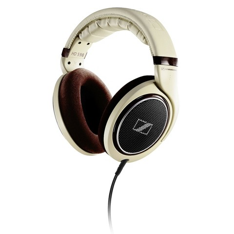 Sennheiser High-End Over-the-Ear Headphones (HD598) - Brown