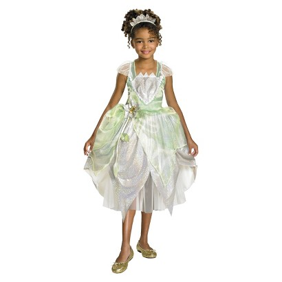 Toddler/Girl's Princess Tiana Shimmer Deluxe Costume