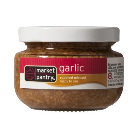 Roasted Minced Garlic 4-oz  - Market Pantry™