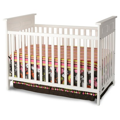 Childcraft Shoal Creek Logan Traditional Crib - Matte White
