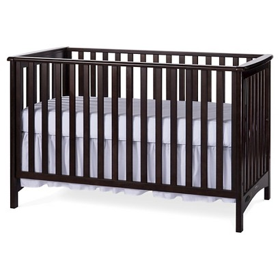 Childcraft Shoal Creek London Euro Crib - Jamocha Wood