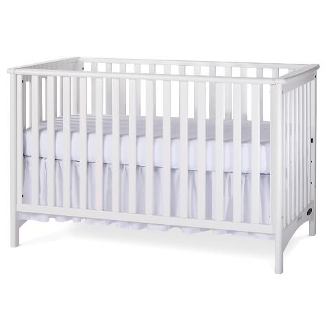 Childcraft Shoal Creek London Euro Crib - Matte White