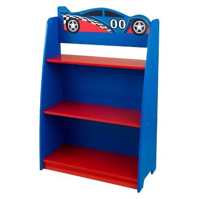 Kidkraft Bookshelf - Racecar