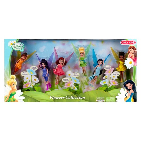 "Disney Fairies 4.5"" Doll Pixie Hollow Games 6 Pack"