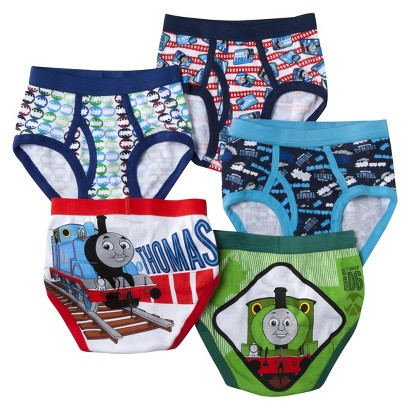 Thomas and Friends Boys 5-Pack Brief Set - Assorted