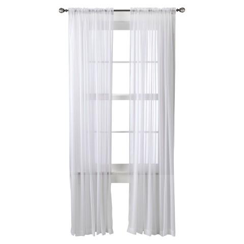 Threshold™ Chiffon Sheer Curtain Panel