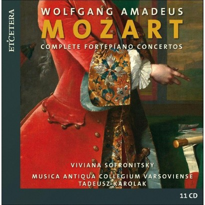 Wolfgang Amadeus Mozart: Complete Fortepiano Concertos