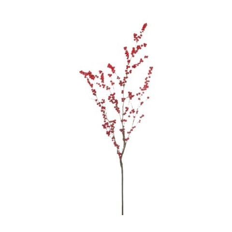 3.5' Unlit LED Berry Branch Artificial Christmas Tree - Red