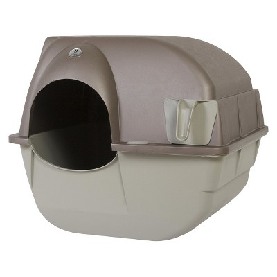 Roll 'n Clean Litter Box - Pewter