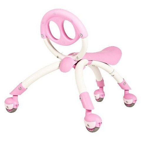 YBIKE Girl's Push And Ride Riding Toy - Pink