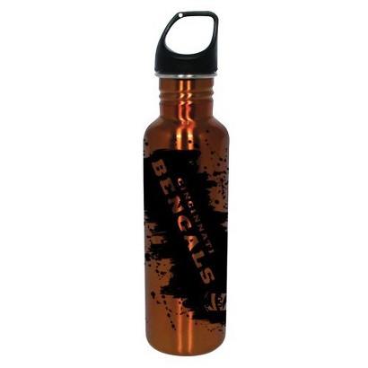 Cincinnati Bengals Water Bottle - Orange (26 oz.)
