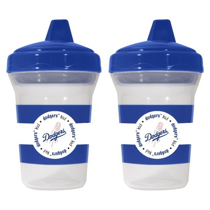 Baby Fanatic Los Angeles Dodgers 2pack Sippy Cup