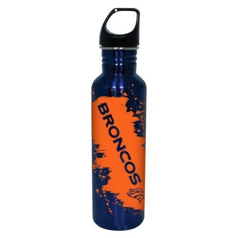 Denver Broncos Water Bottle - Blue (26 oz.)