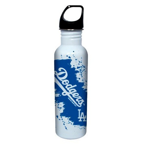 Los Angeles Dodgers Water Bottle - White (26 oz.)