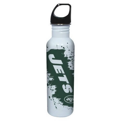 New York Jets Water Bottle - White (26 oz.)