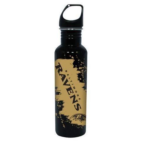 Baltimore Ravens Water Bottle - Black (26 oz.)
