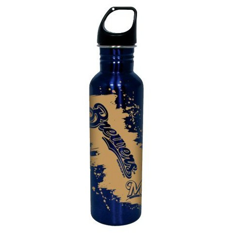 Milwaukee Brewers Water Bottle - Blue (26 oz.)