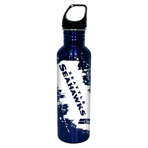 Seattle Seahawks Water Bottle - Blue (26 oz.)