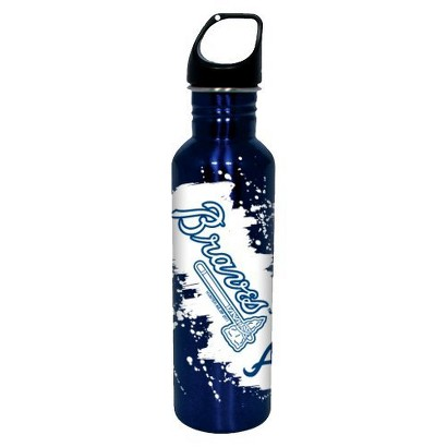 Atlanta Braves Water Bottle - Blue (26 oz.)