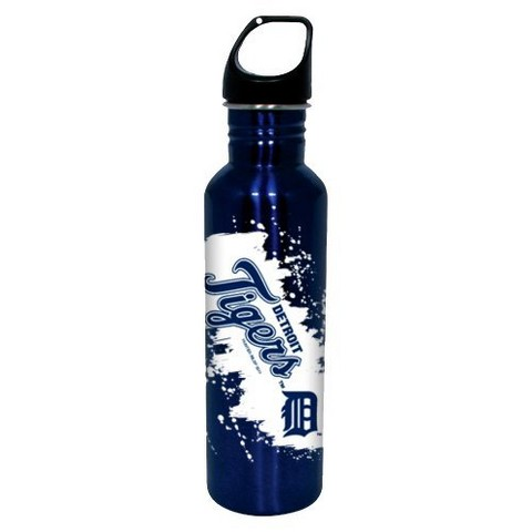 Detroit Tigers Water Bottle - Blue (26 oz.)
