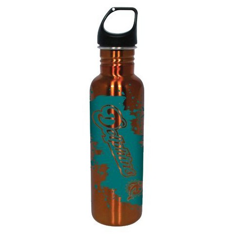 Miami Dolphins Water Bottle - Orange (26 oz.)