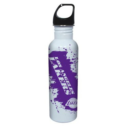 NBA Los Angeles Lakers Water Bottle - White (26 oz.)