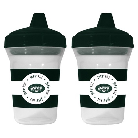Baby Fanatic New York Jets Sippy Cups (2-pack)