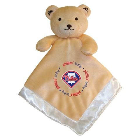 MLB Snuggle Bear Baby Blanket