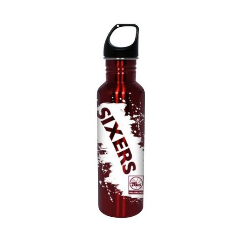 NBA Philadelphia Sixers Water Bottle - Red (26 oz.)