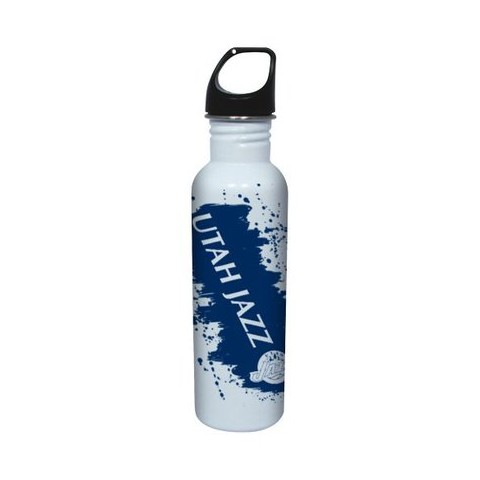 NBA Utah Jazz Water Bottle - White (26 oz.)