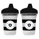 Baby Oakland Raiders Baby Fanatic Sippy Cups - 2-Pack