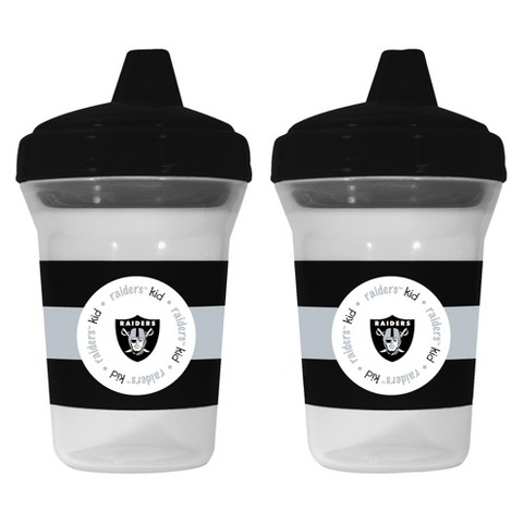 Baby Fanatic Oakland Raiders Sippy Cups (2-pack)