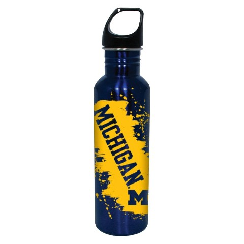 Michigan Wolverines Water Bottle - Blue/Yellow (26 oz.)