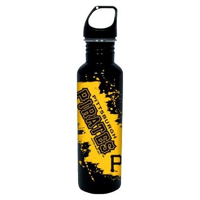Pittsburgh Pirates Water Bottle - Black (26 oz.)