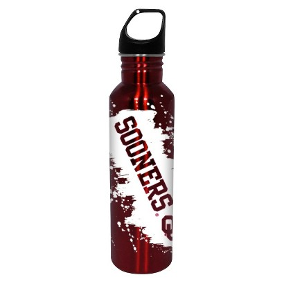 NCAA Oklahoma Sooners Water Bottle - Red/White (26 oz.)