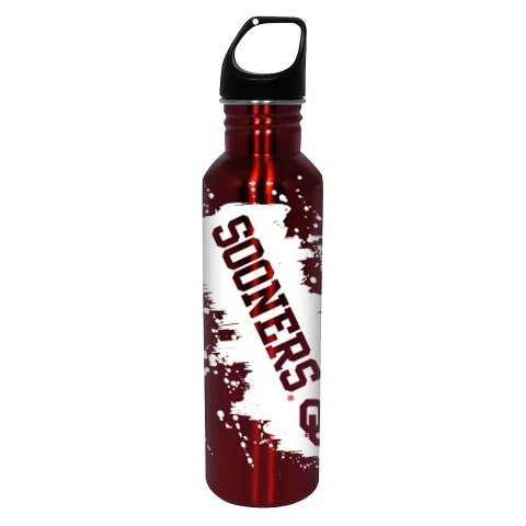 Oklahoma Sooners Water Bottle - Red/White (26 oz.)
