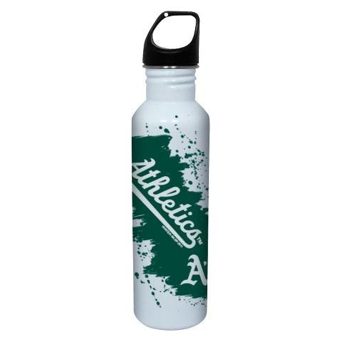Oakland Athletics Water Bottle - White (26 oz.)