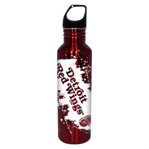 NHL Detroit Red Wings Water Bottle - Red (26 oz.)