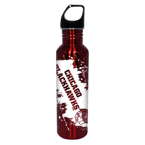 NHL Chicago Blackhawks Water Bottle - Red (26 oz.)