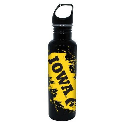 NCAA Iowa Hawkeyes Water Bottle - Black/Yellow (26 oz.)