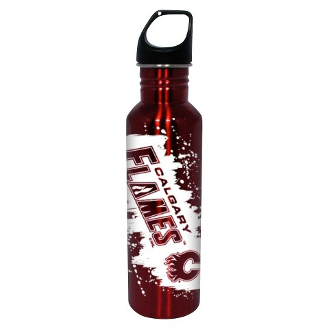 NHL Calgary Flames Water Bottle - Red (26 oz.)