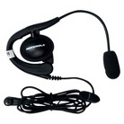 Motorola Earpiece with Boom Microphone for Two Way Radios - Black (56320)