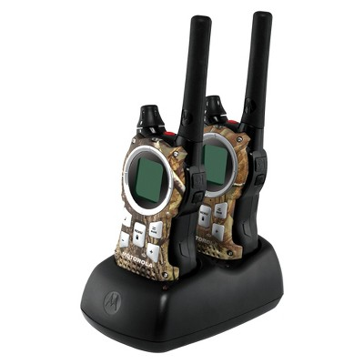 Motorola 35 Mile FRS/GMRS 2-Way Radio Pair - Black/Brown (MR355R)