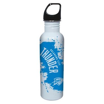 NBA Oklahoma Thunder Water Bottle - White (26 oz.)
