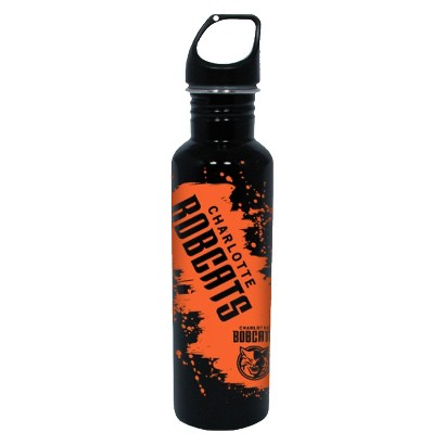 NBA Charlotte Bobcats Water Bottle - Black (26 oz.)