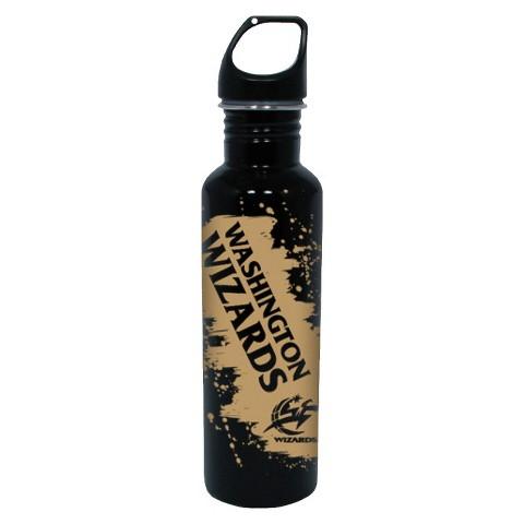 NBA Washington Wizards Water Bottle - Black (26 oz.)