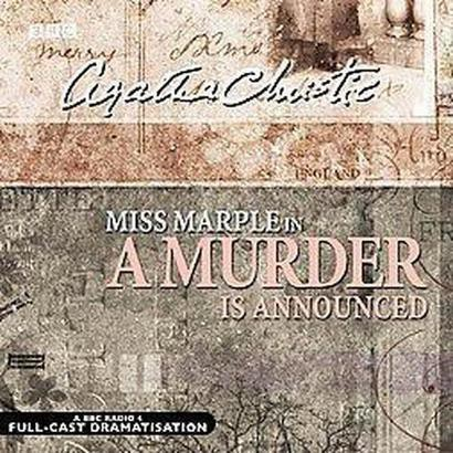A Murder Is Announced (New) (Compact Disc)
