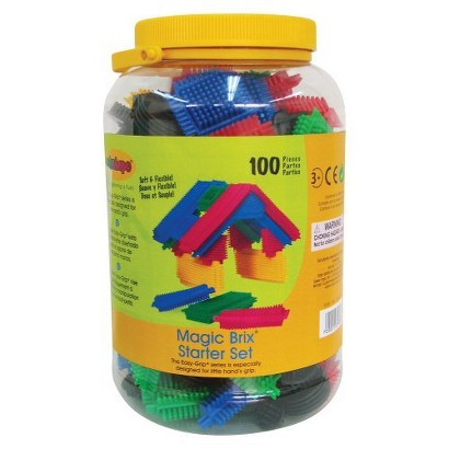 Edushape Magic Brix-Starter Pack - 100 Piece